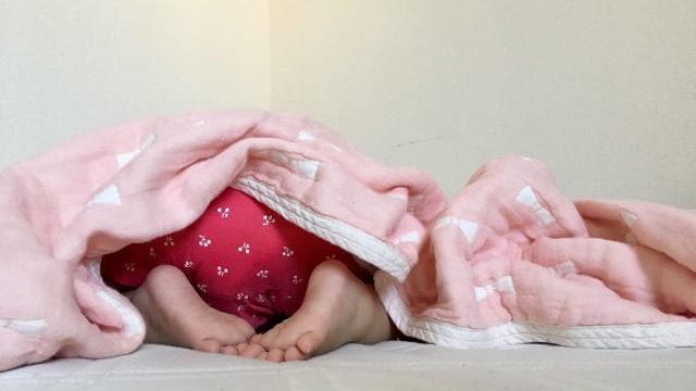 1歳児寝る
